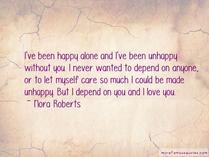 Alone To Be Happy Quotes Pictures 3