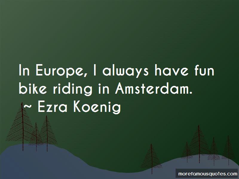 Amsterdam Bike Quotes