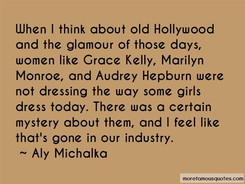 Audrey Hepburn Glamour Quotes