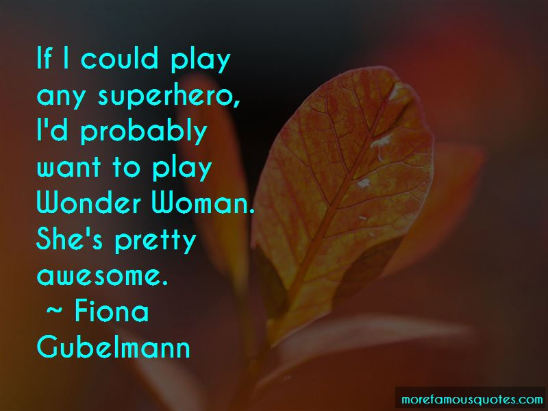 Awesome Wonder Woman Quotes