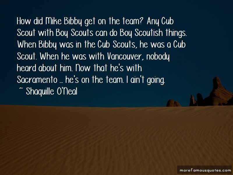 Bibby Quotes