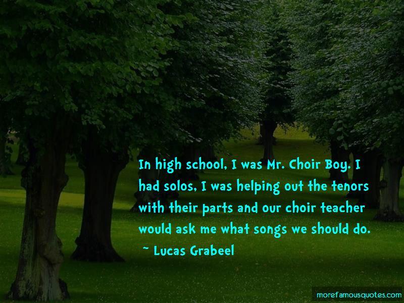 Choir Boy Quotes