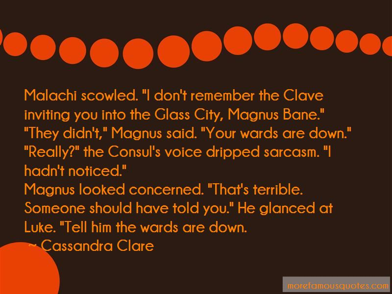 City Of Glass Clave Quotes