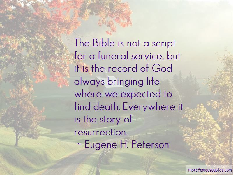 Death Is Expected Quotes Pictures 3
