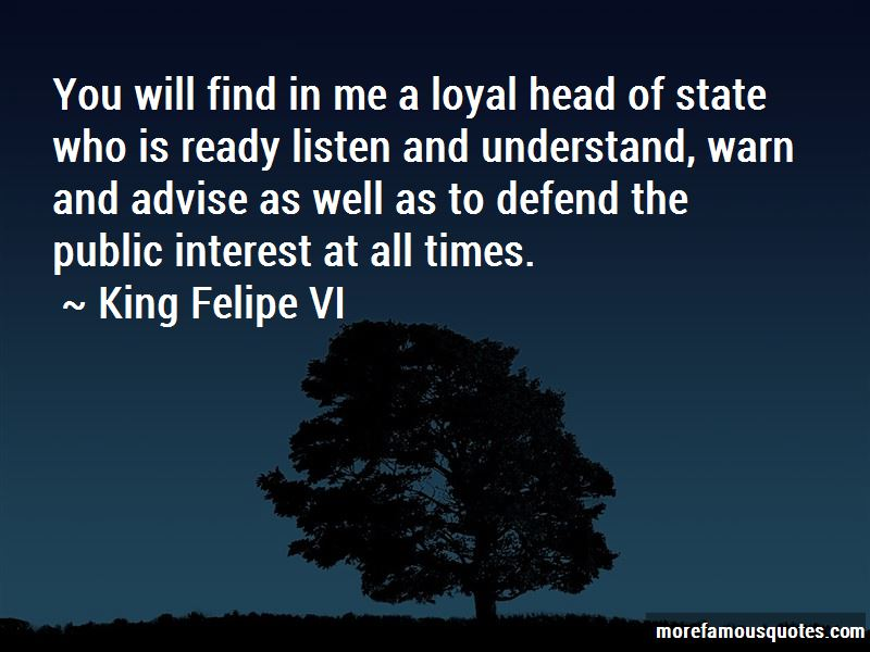 Head Of State Quotes
