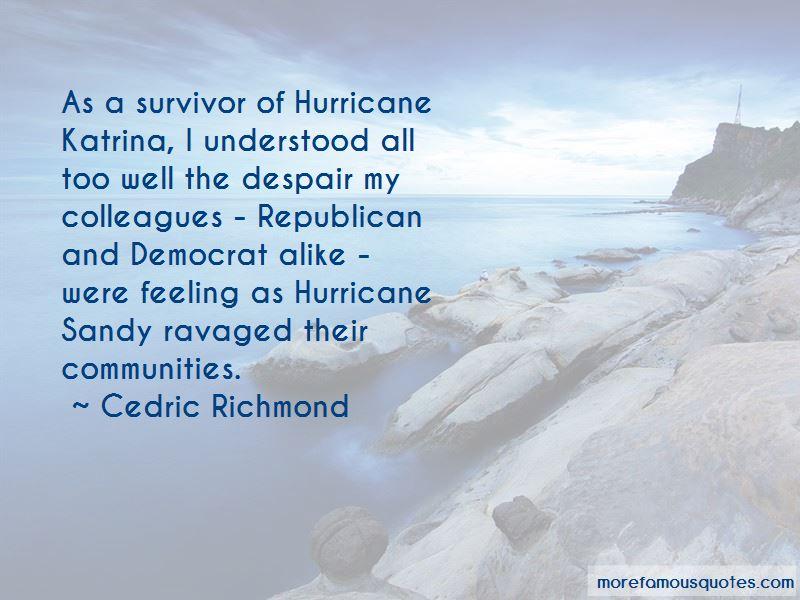 Hurricane Sandy Survivor Quotes