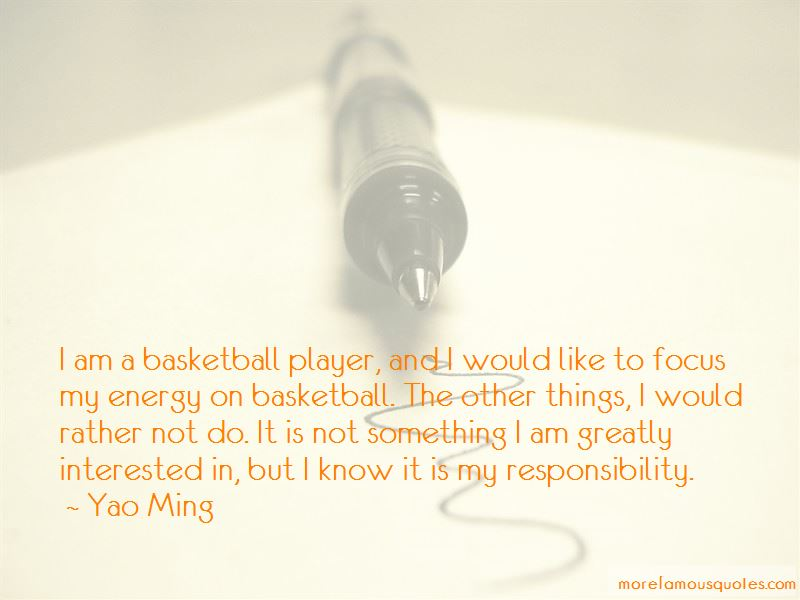 I Am A Basketball Player Quotes
