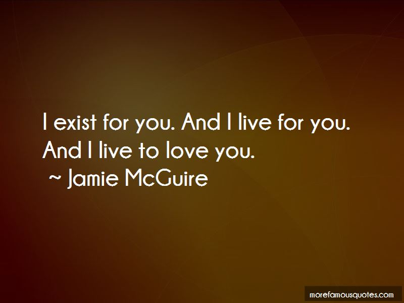 I Live For You Quotes