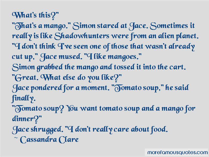 Jace Mango Quotes