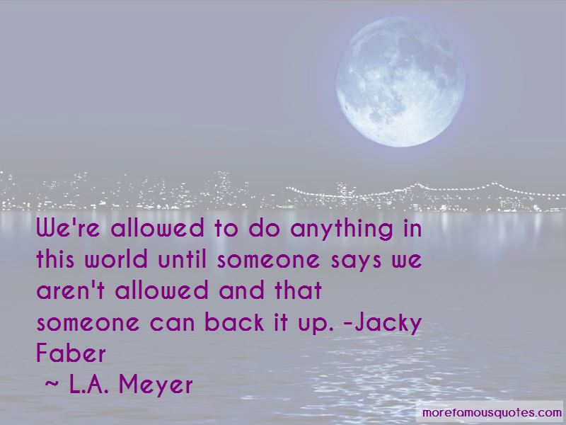 Jacky Faber Quotes