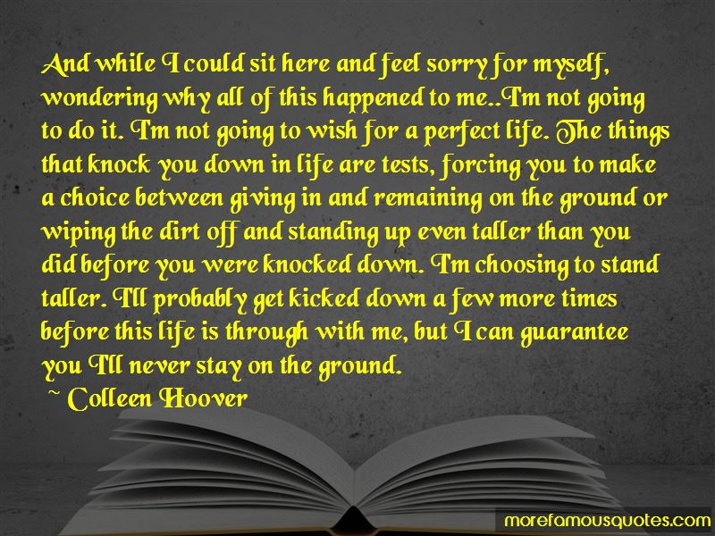 Life Can Knock You Down Quotes