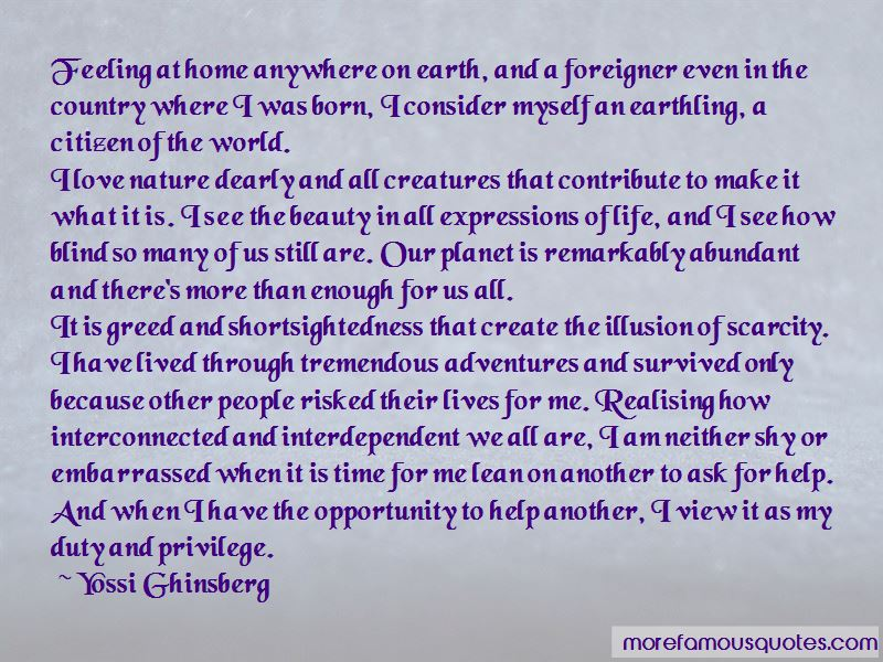 Love Realising Quotes