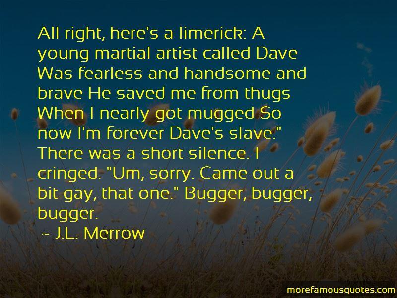 Mugged Quotes