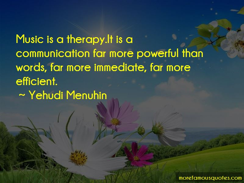 Music And Therapy Quotes