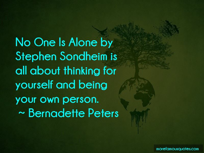 No One Is Alone Quotes Pictures 2