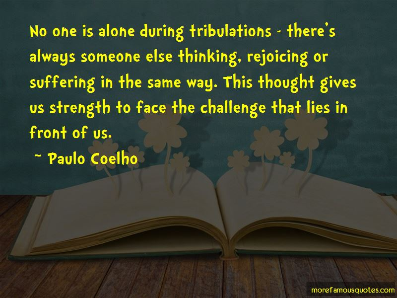 No One Is Alone Quotes