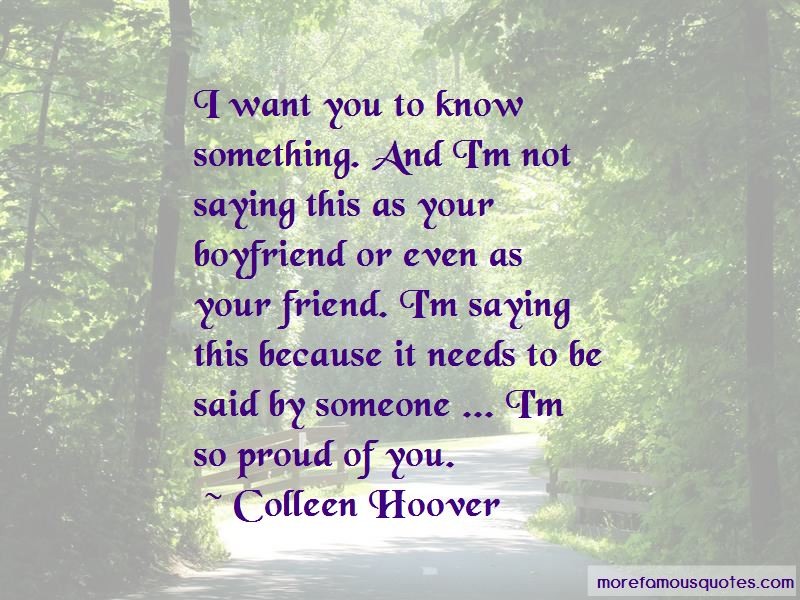 Proud Of Your Boyfriend Quotes