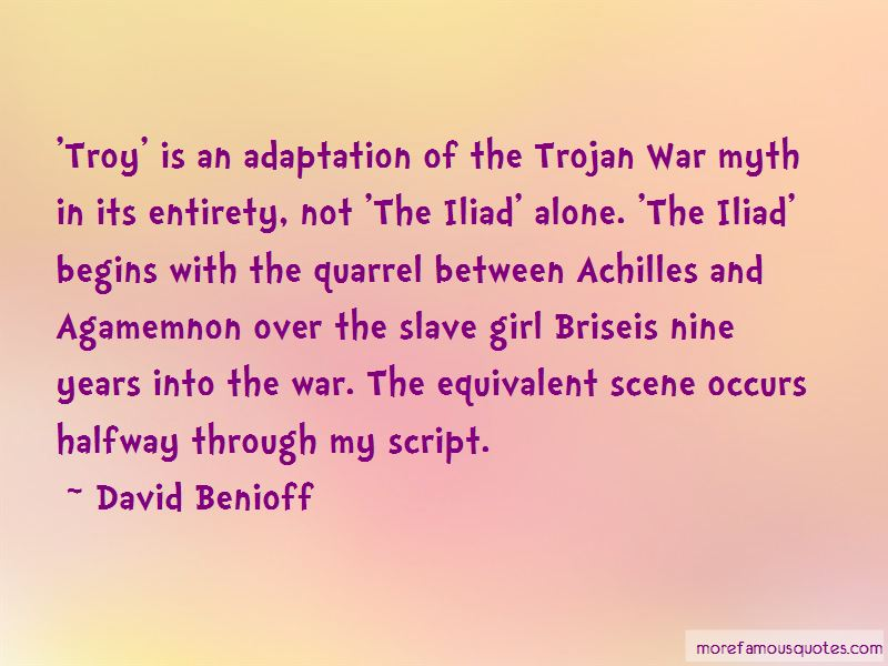 Achilles From The Iliad Quotes Pictures 2