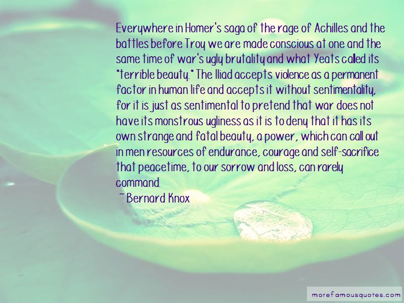 Quotes About Achilles From The Iliad