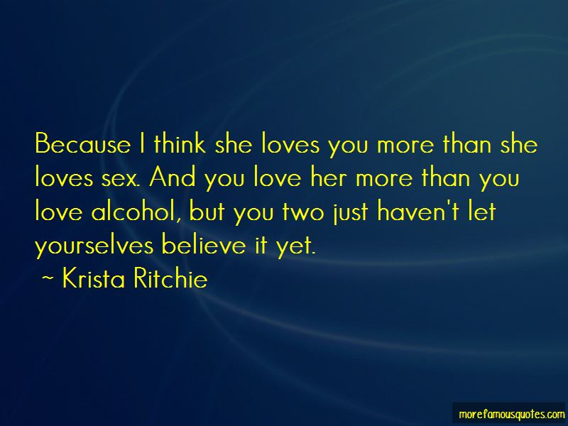 Alcohol And Love Quotes Pictures 3