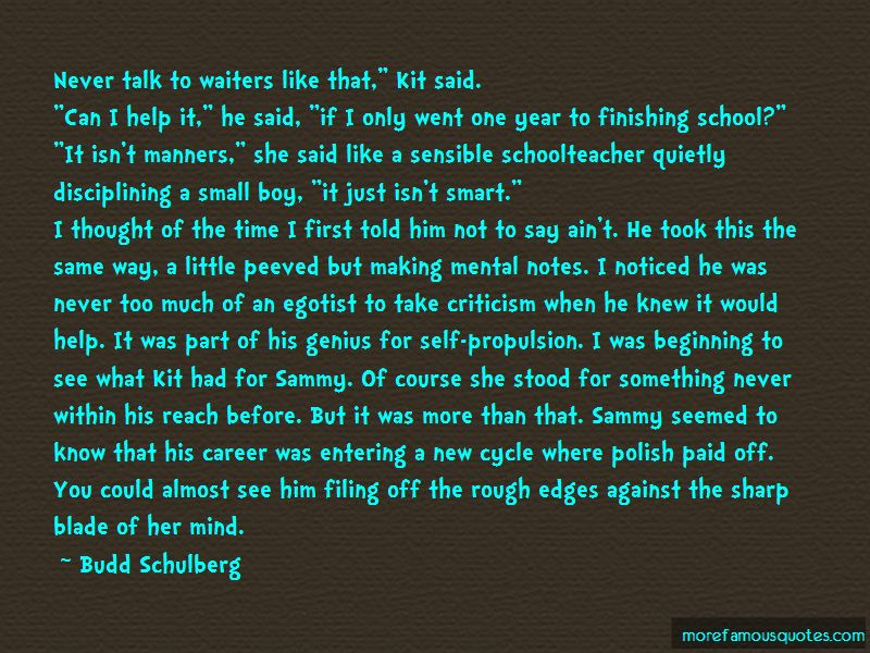Quotes About Almost Finishing School