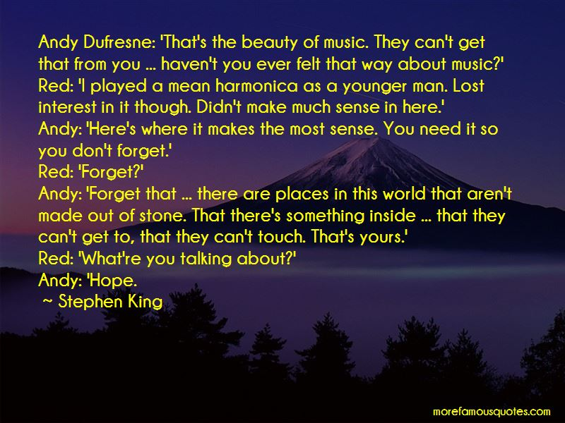 Quotes About Andy Dufresne