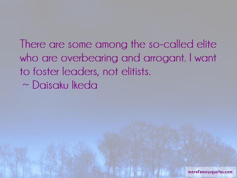Quotes About Arrogant Leaders