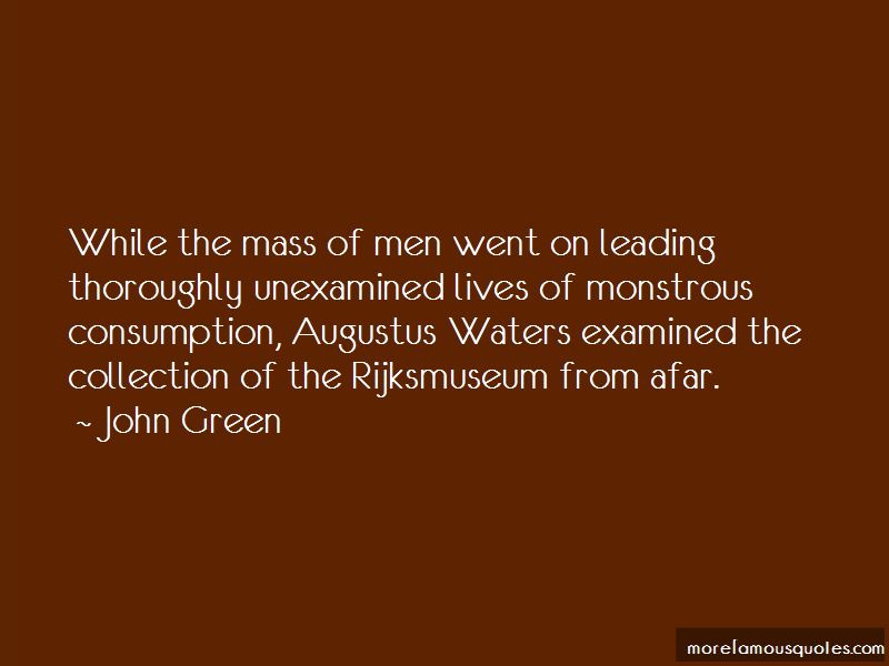 Quotes About Augustus Waters