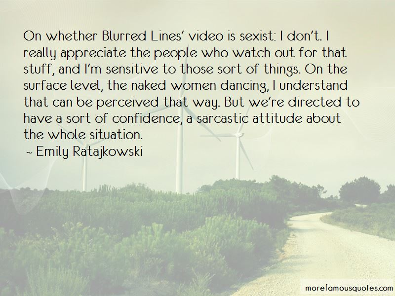 Quotes About Blurred Lines