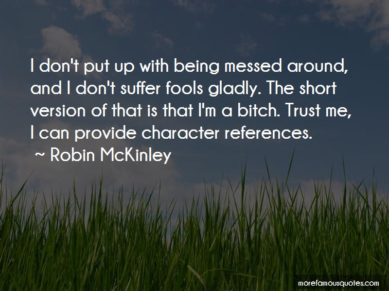 Quotes About Character References