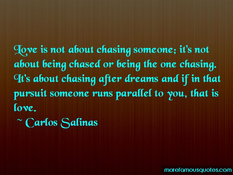 Quotes About Chasing After Someone You Love