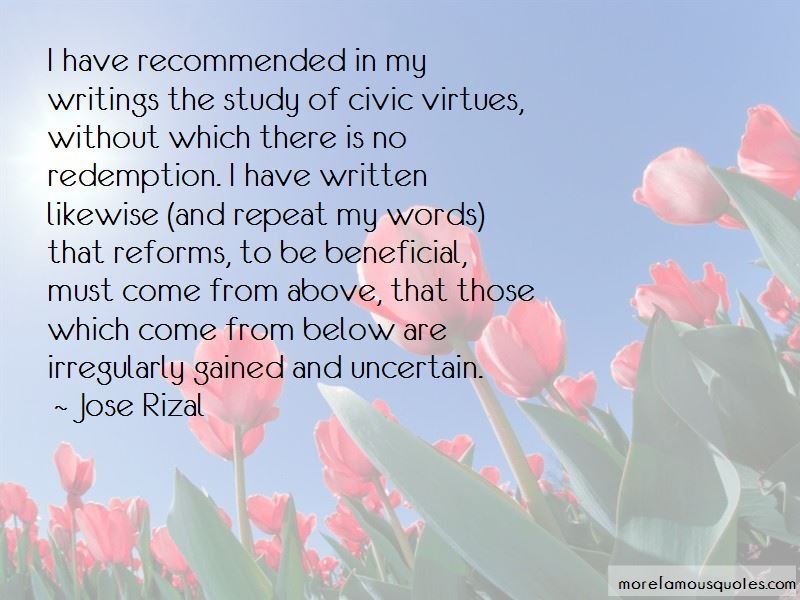 Quotes About Civic Virtues