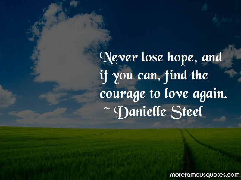 Quotes About Courage To Love Again