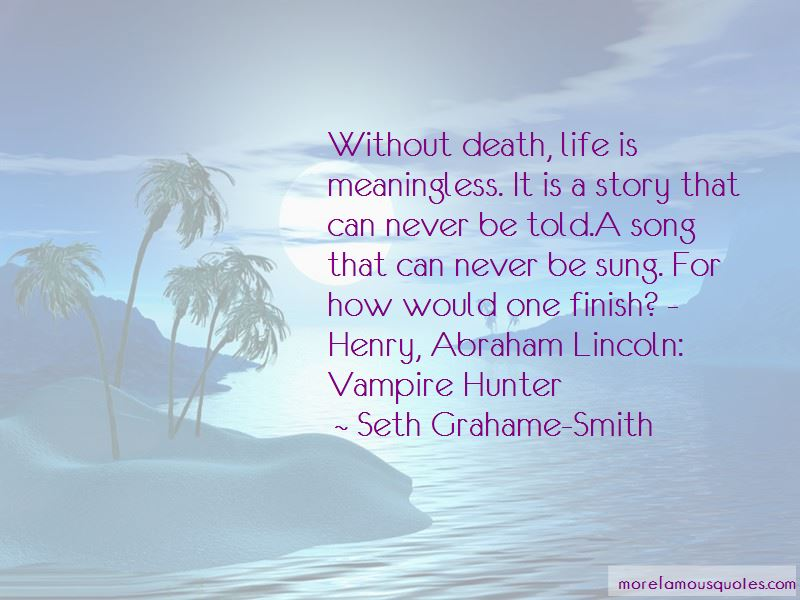 Quotes About Death By Abraham Lincoln