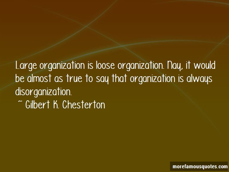 Quotes About Disorganization
