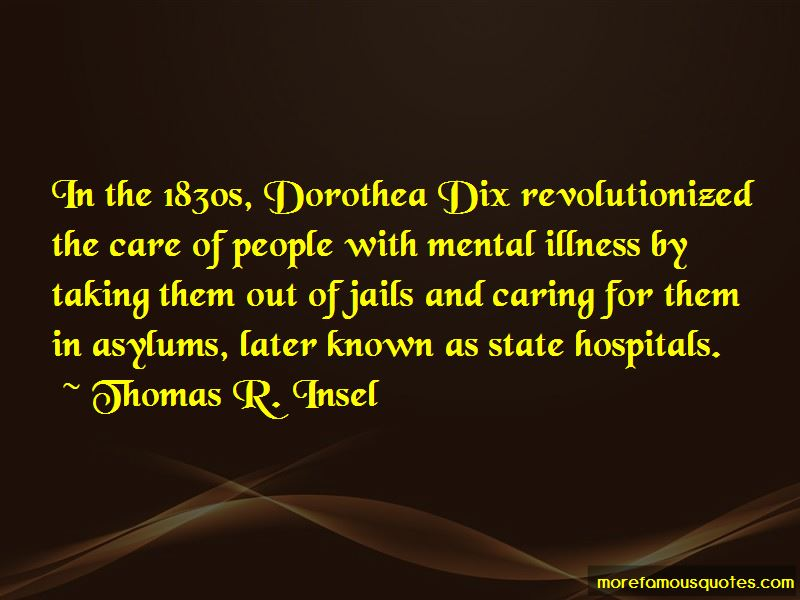Quotes About Dorothea Dix