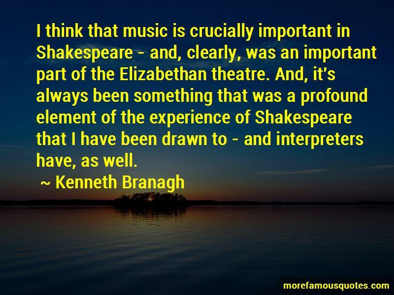 Quotes About Elizabethan Theatre