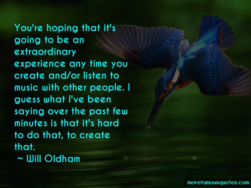Quotes About Extraordinary Experience