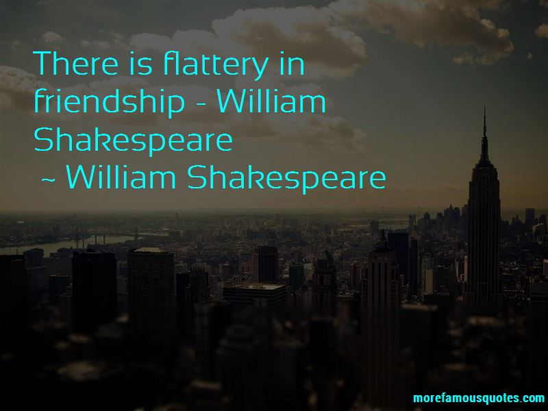 Quotes About Friendship William Shakespeare
