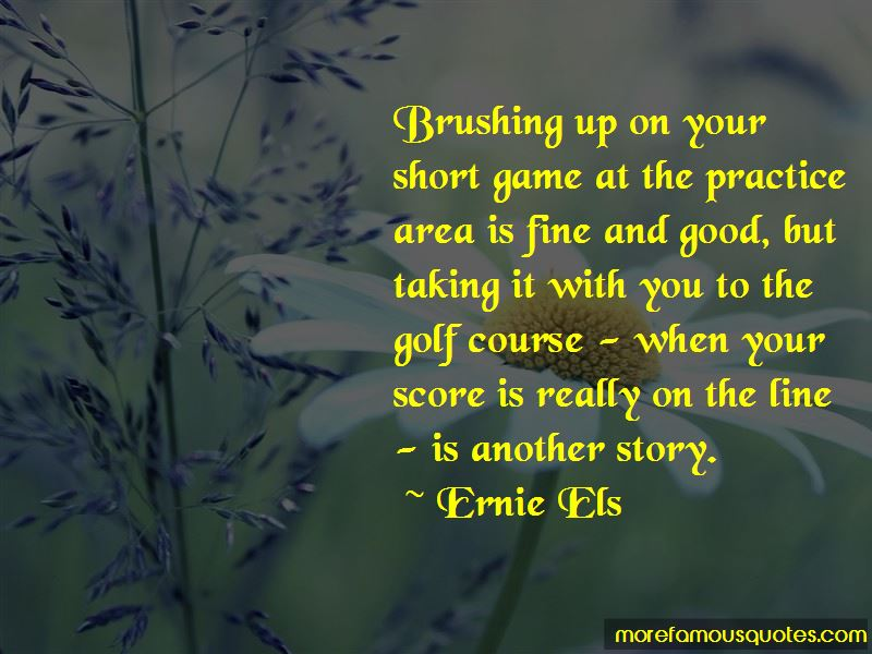 Quotes About Golf Short Game