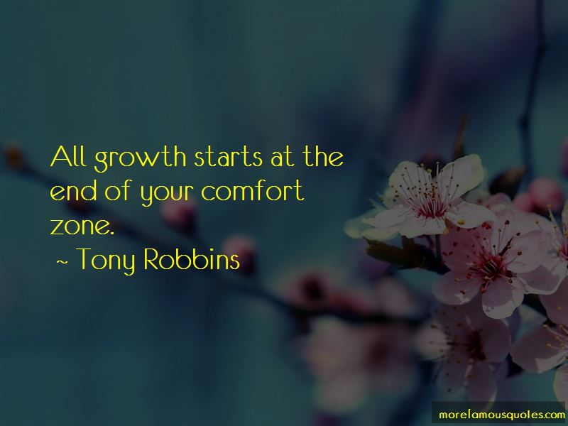 Growth And Comfort Quotes Pictures 4