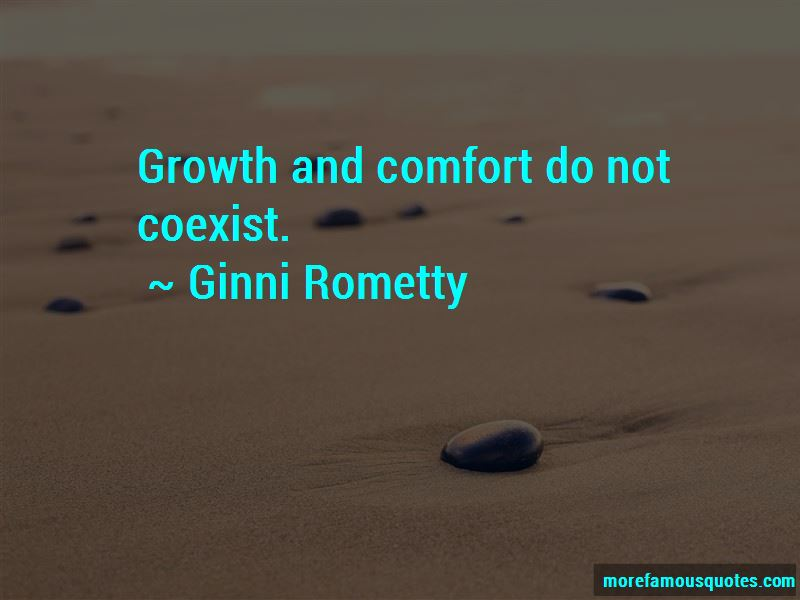 Quotes About Growth And Comfort
