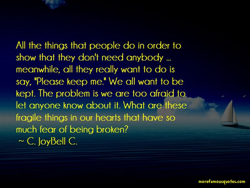 Quotes About Hearts Being Fragile