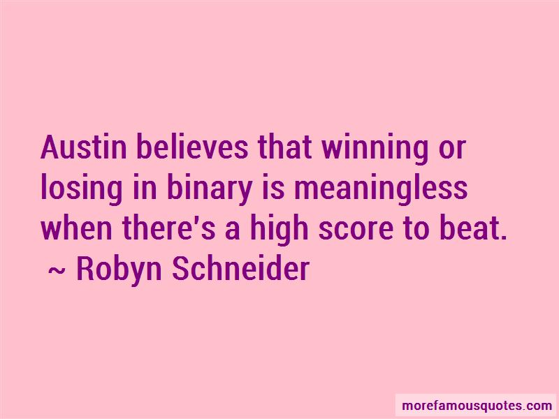Quotes About High Score