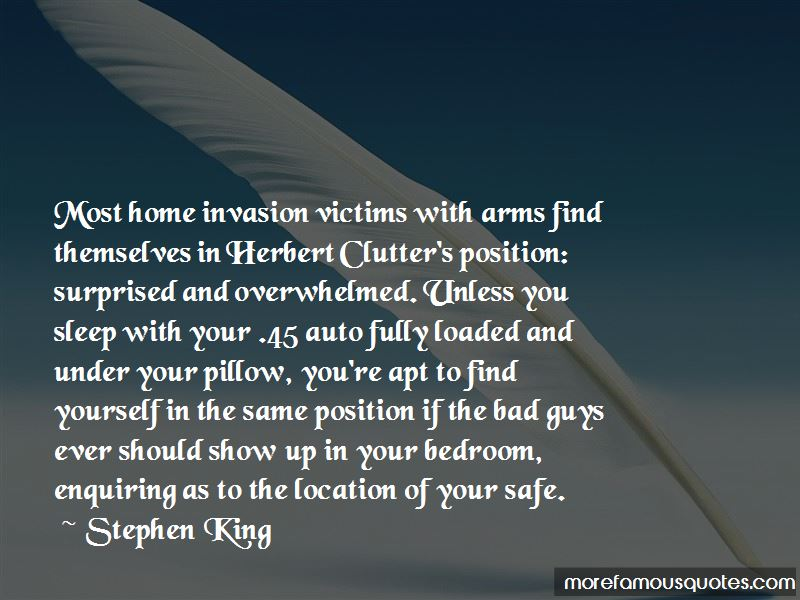 Quotes About Home Invasion