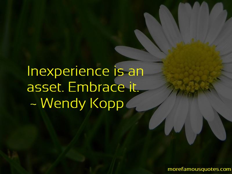 Inexperience Quotes Pictures 2
