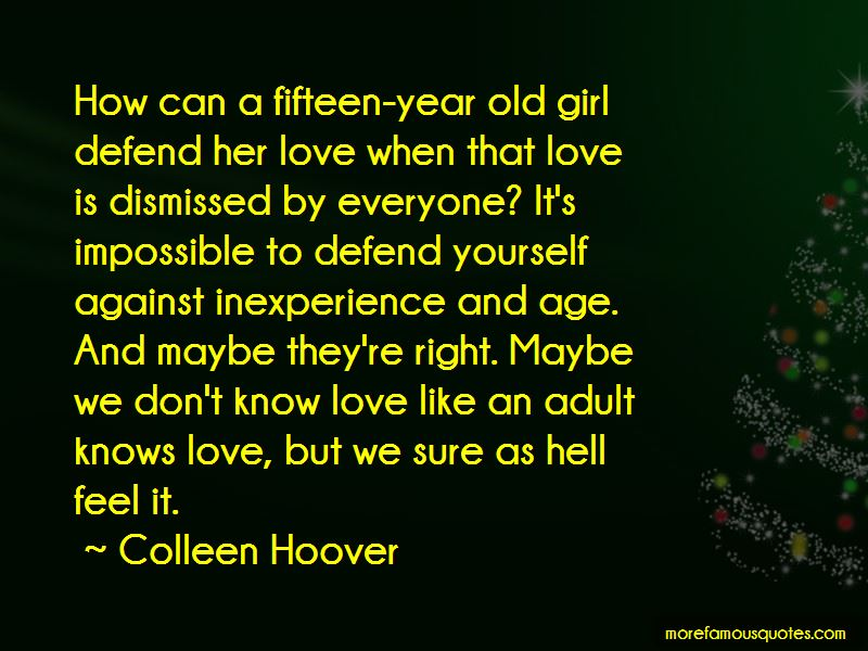 Quotes About Inexperience