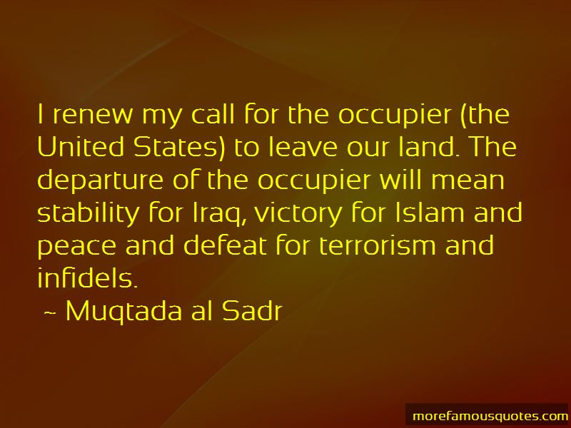 Quotes About Islam And Peace