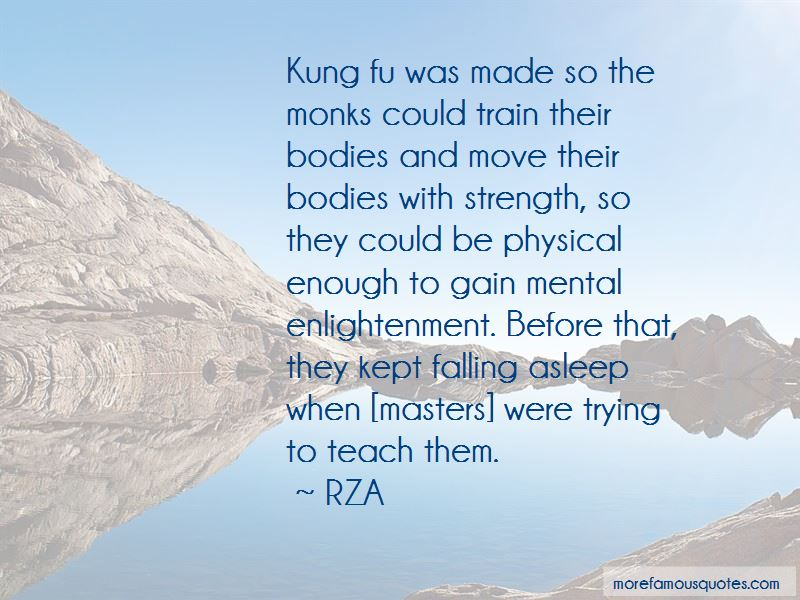 Quotes About Kung Fu Masters
