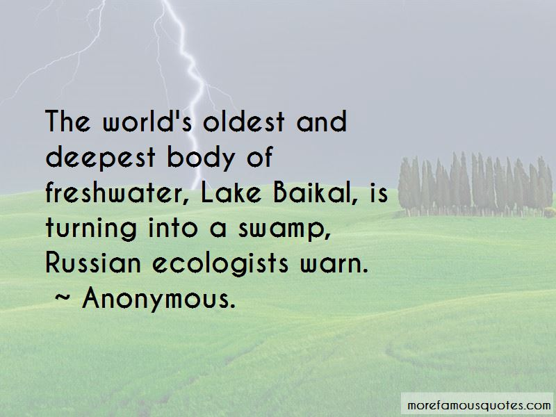Lake Baikal Quotes Pictures 2